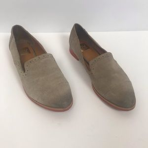 Dolce Vita gray suede flats loafers 398